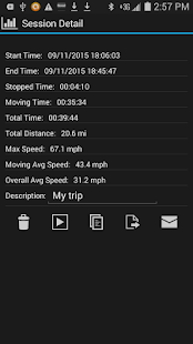 GPS HUD Speedometer Free- screenshot thumbnail
