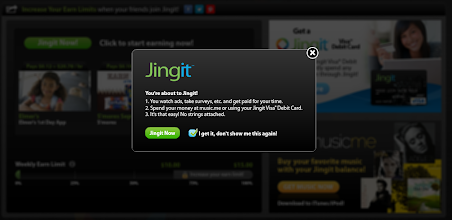 Photo: Confirm that you are really ready to get Jingy with it...