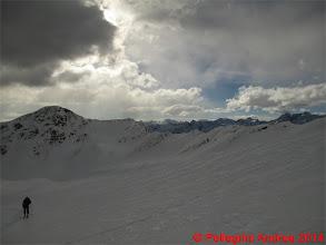 Photo: IMG_6984 e salendo verso cima Forzellina appare il gruppo Brenta