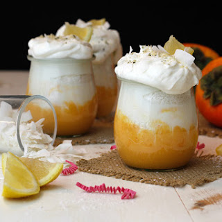 Persimmon Power Meyer Lemon Parfait.