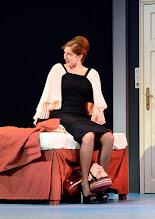 Photo: Wien/ Theater in der Josefstadt: DER GOCKEL von Georges Feydeau. Inszenierung: Josef E. Köpplinger. Premiere 19.11.2015. Susa Mayer, Josef Ellers. Copyright: Barbara Zeininger