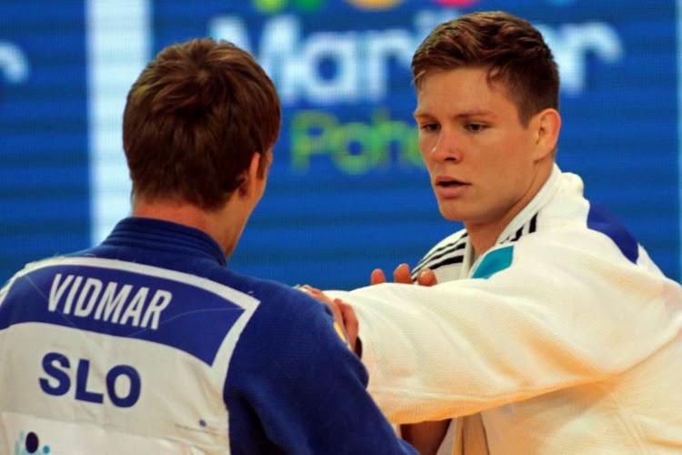 Judoka Matthias Casse pakt goud op het grandslam in Parijs