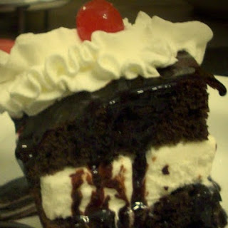 Hot Fudge Ice Cream Cake