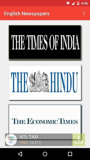 India English Newspaper