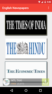 English News papers - India - náhled