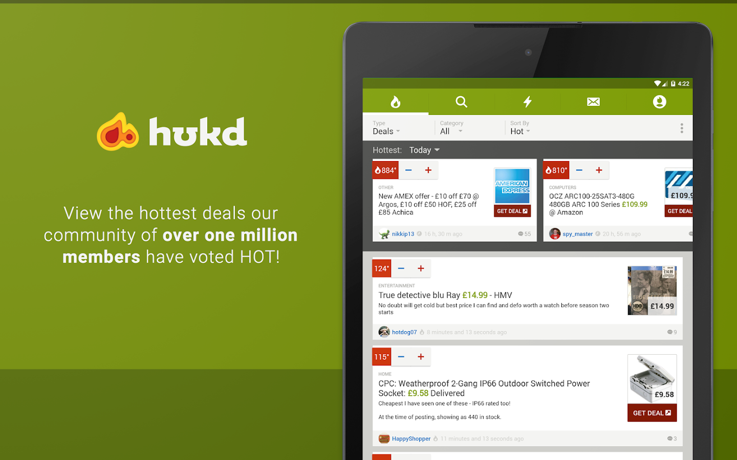 HUKD - Black Friday, Vouchers- screenshot