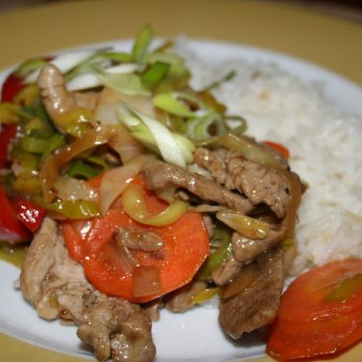 Colourful Stir-fry Sirloin