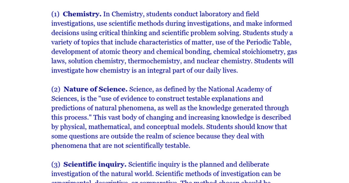 critical thinking science questions