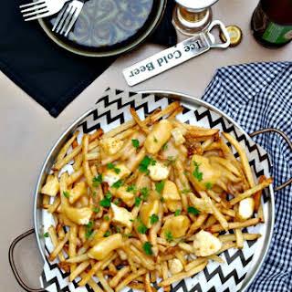 Easy Poutine Gravy Fries.