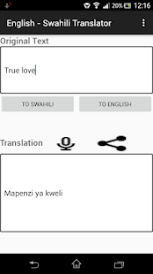 English - Swahili Translator - náhled