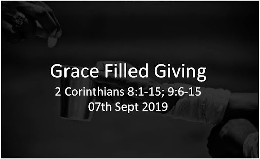 Grace Filled Giving