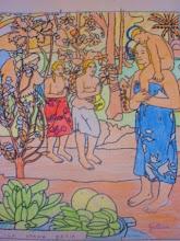 """Photo: Gauguin""""La Orana María"""" Alumnado 5º"""