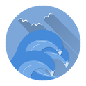 Ocean Sapphire - Layers Theme APK Cracked Download