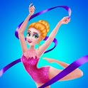 Gymnastics Star Girl Dress Up Fashion icon