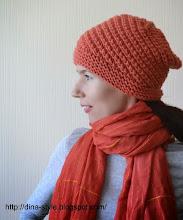Photo: женская вязаная шапочка Паприка