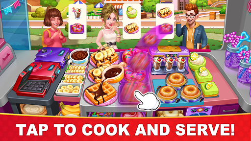 Cooking Hot - Crazy Chef's Kitchen Cooking Games 1.0.5 screenshots 1