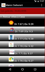Maroc Carburant: prix & tarifs screenshot 2