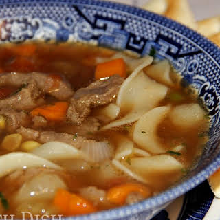 Southern Vegetable Beef Soup.