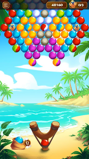 Bubble Beach Bird Rescue - screenshot