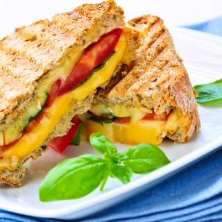 Grilled Cheese Pizza Sandwich.