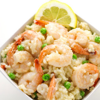 Easy Shrimp Risotto