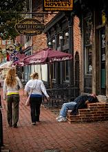 Photo: Tourists vs Locals by: Rick Knight - USA