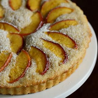 Nectarine Buttermilk Cake.