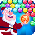 Bubble Shooter Santa Icon