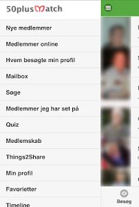 50PlusMatch.dk screenshot 1