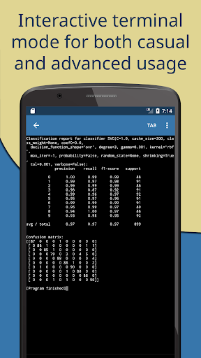 Pydroid 3 - Educational IDE for Python 3  screenshots 2