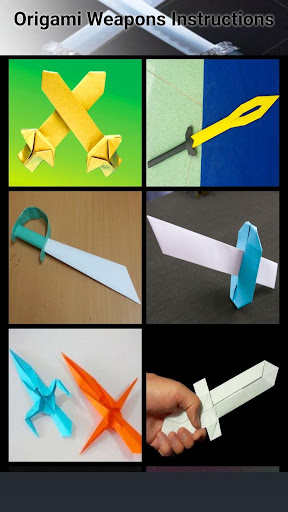 Origami Weapons Instructions Apk Download Apkpure
