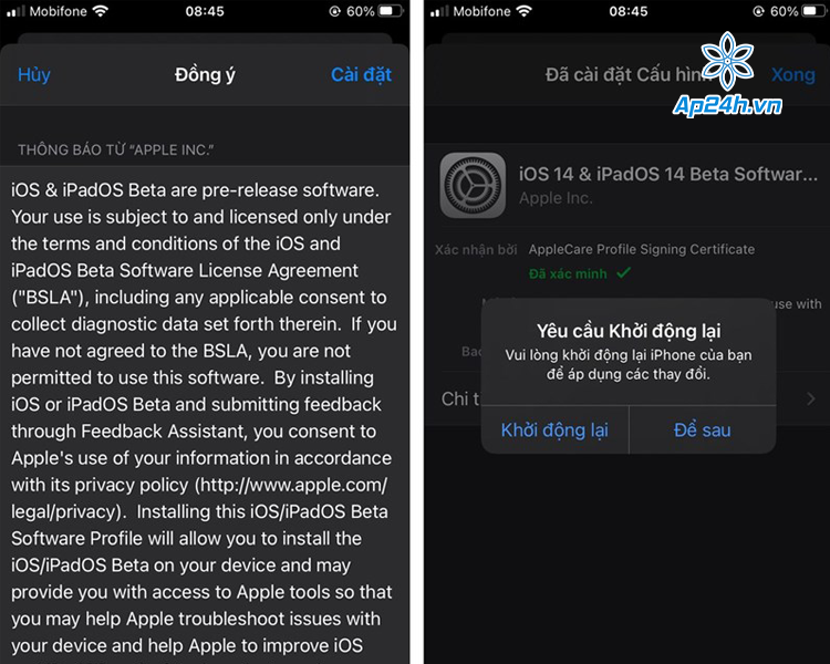 cập nhật iOS 14.3 beta 2