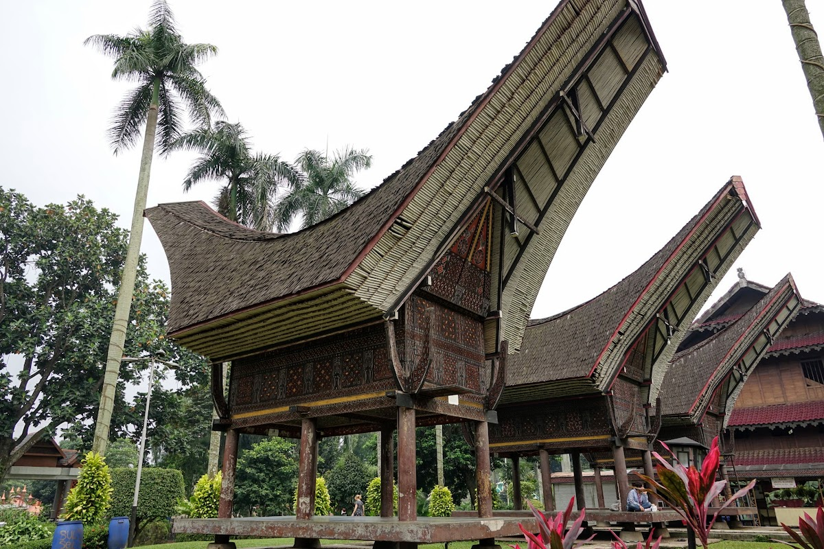 Burial Houses, South Sulawesi