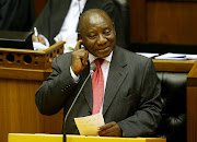 President of South Africa Cyril Ramaphosa.