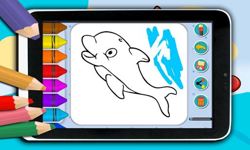 無料娱乐Appの色の海の動物|記事Game
