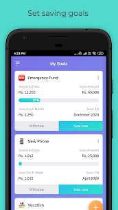 Easyplan Saving App: Set goals, Withdraw instantly Apk Download for Android 1