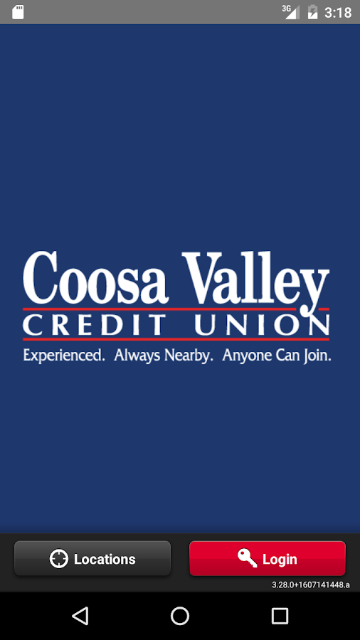 Coosa Valley Credit Union- screenshot