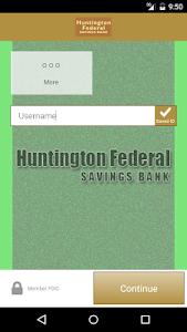 Huntington Fed. Savings Bank screenshot 1