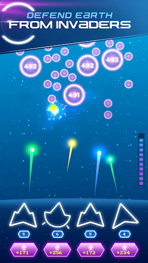 Non-Stop Space Defense - Infinite Aliens Shooter 1.1.0g app download 2