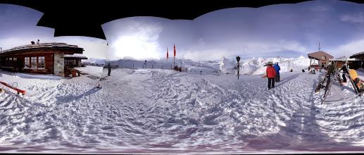 Photo: Photosynth at top of Rothorn Gondola