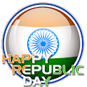 Happy Republic Day Frame icon