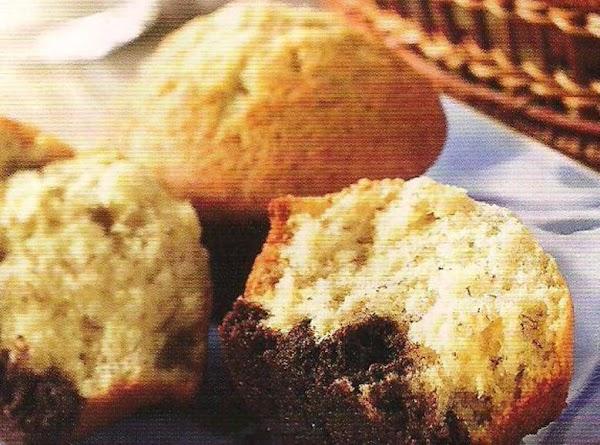 Banana Cupcakes With Belgian Chunk Cookie Bottoms Recipe