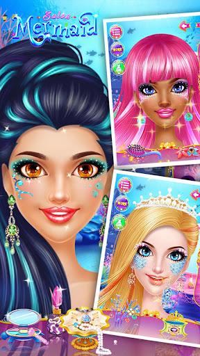 🧜♀️👸Mermaid Makeup Salon screenshot 14