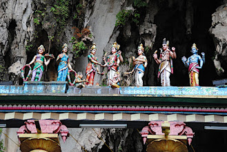 Photo: Kuala Lumpur - Detail on entrance at Batu Caves