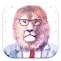 Hipster Lion Live Wallpapers icon