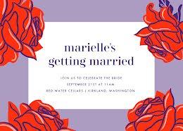 Marielle's Bridal Shower - Bridal Shower Invitation item