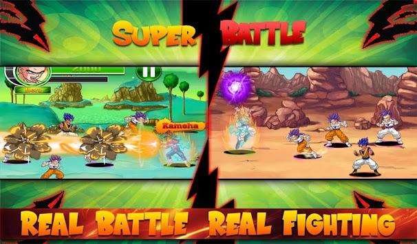 Dragon Z Saiyan Super Battle apk screenshot