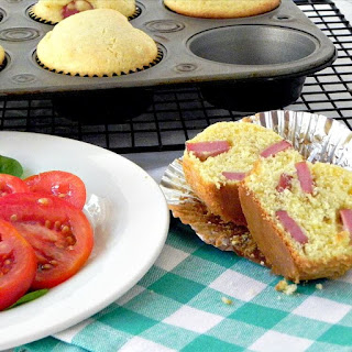 Easy Corn Dog Muffins