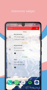 Todo Reminder Pro + Widget Screenshot