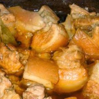 Pork Adobong Antigo #StreetFoodCarinderia.